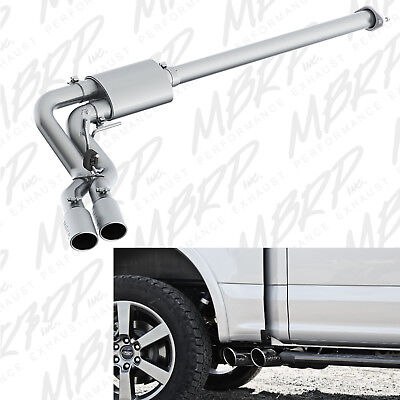 MBRP Cat Back Side Exit Exhaust System Fits 2015-2020 Ford F150 5.0L V8 Coyote