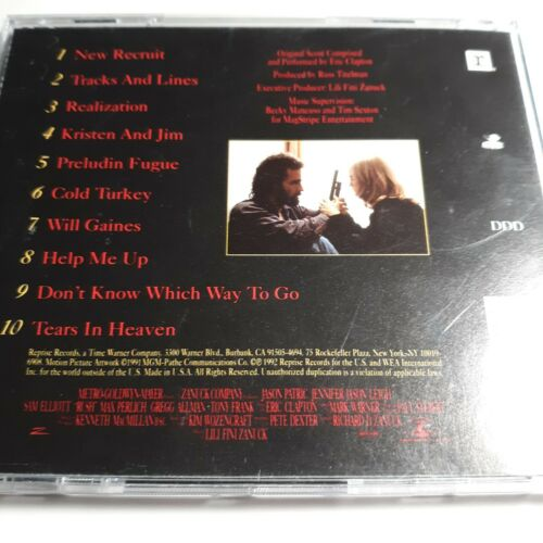 Rush Music From The Motion Picture Soundtrack CD, 1991, Various Artists  - $3.49