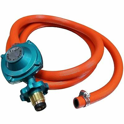 (5ft Low Pressure Propane Regulator and Hose Connection Kit for LP/LPG (ALP2102))