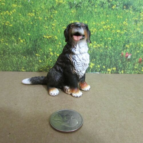 Schleich Bernese Mountain Dog Sitting 16316 Retired