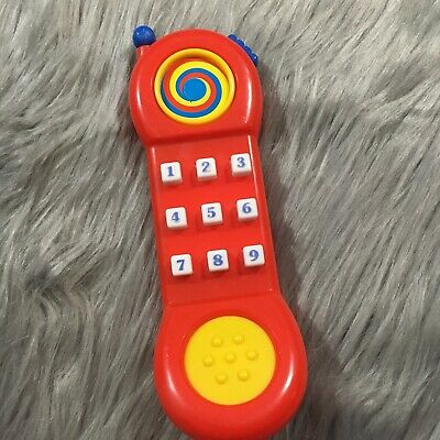 VTG Shelcore Mobile Phone Toy Plastic Replacement Red Antenna Telephone Cell