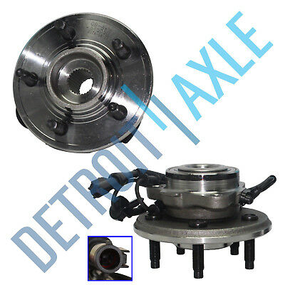 2 Front Wheel Bearing and Hub 2006 2007 2008 2009 2010 Ford Explorer 40L 46L