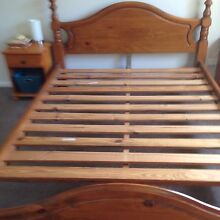 Queen Pine Bed frame Frenchs Forest Warringah Area Preview
