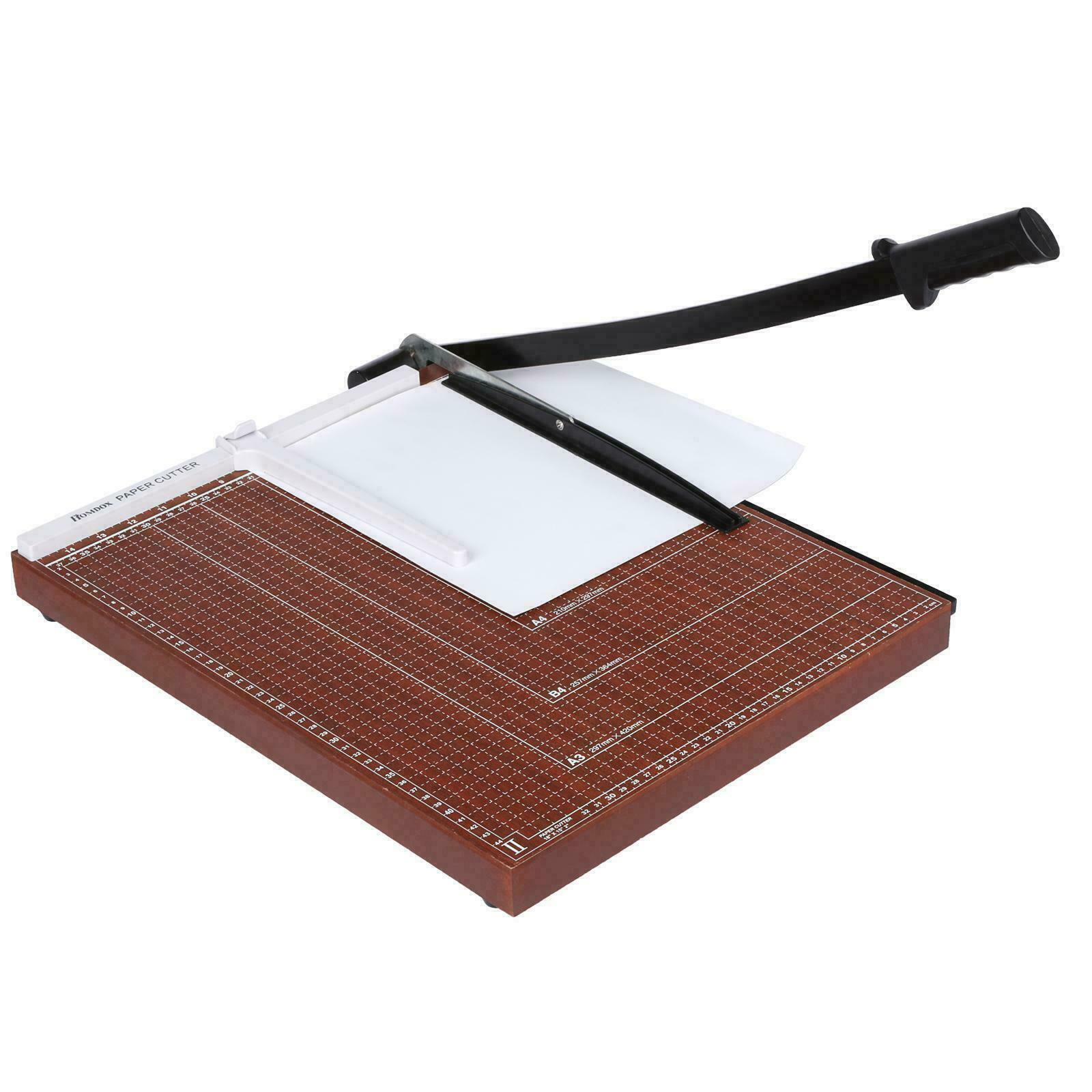 25 Inch A4 to B7 Heavy Duty Guillotine Paper Cutter Photo Tr