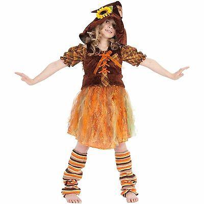 Princess Paradise Costume-Serena the Scarecrow-Dress,Vest,Legwarmers XS 4 NEW](Princess Paradise Costume)
