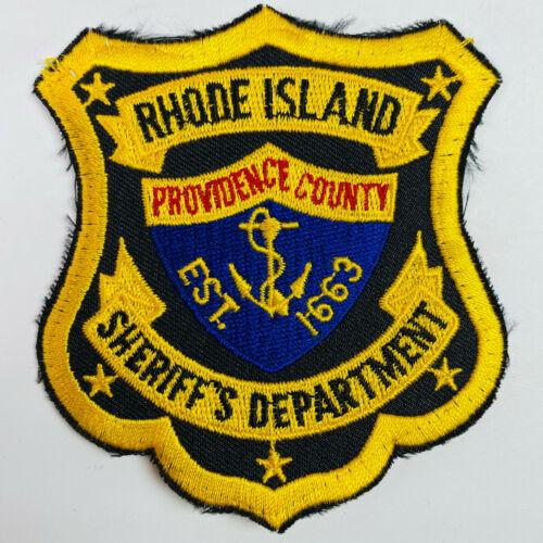 Providence County Sheriff Rhode Island RI Patch (A4)