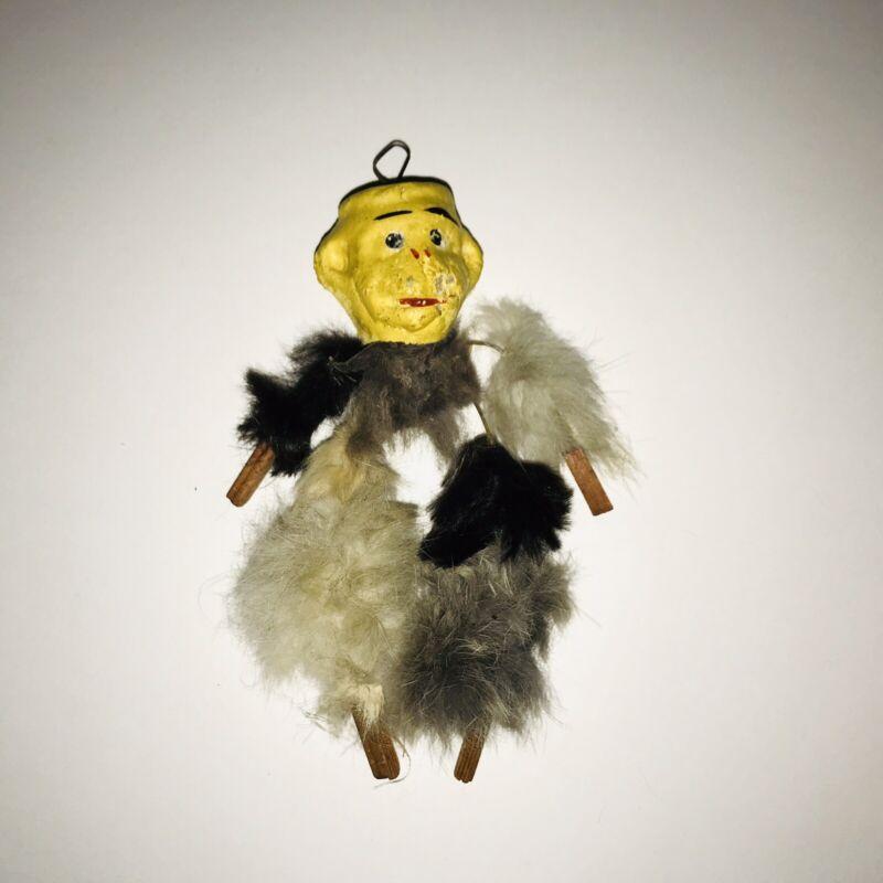 Vintage 1940s Monkey Ornament HALLOWEEN ?