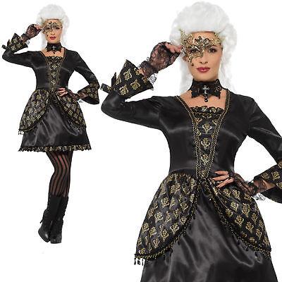 Maskerade Kostüm Halloween Halbschuhe Damen Kostüm Erwachsene (Damen Maskerade Kostüm)