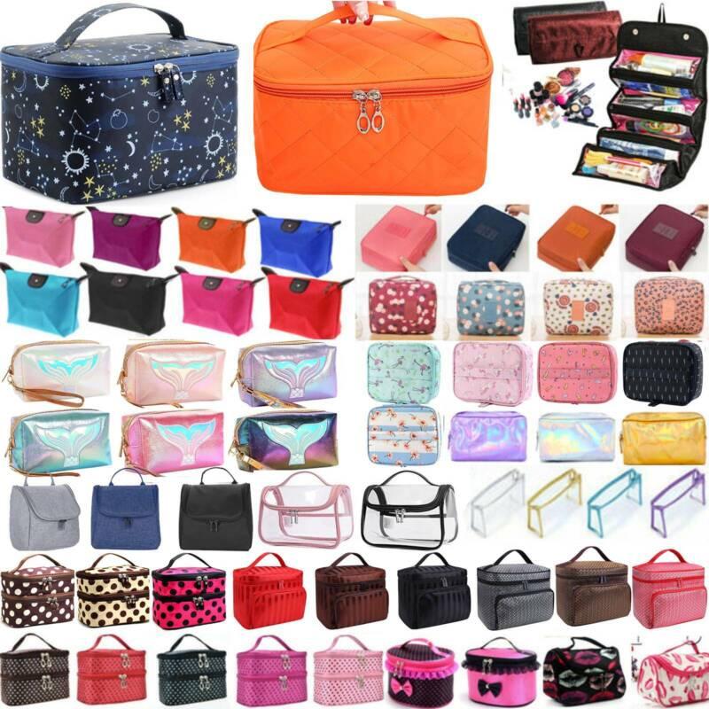 Women Cosmetic Make Up Wash Toiletry Bag Travel Case Storage Organizer Handbag Health & Beauty