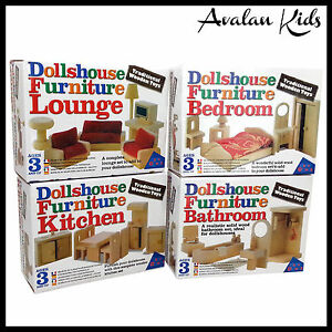 TRADITIONAL-4-BOXES-WOODEN-DOLL-HOUSE-FURNITURE-SET-MINIATURE-FURNITURE