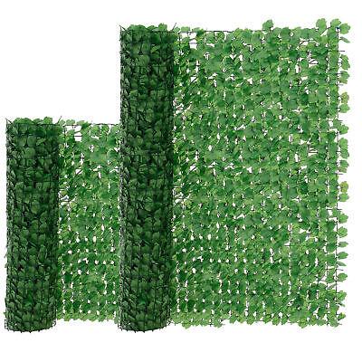 [neu.haus]® Blätter Zaun Grün Sichtschutz Windschutz Zaun Garten Balkon Sonnen