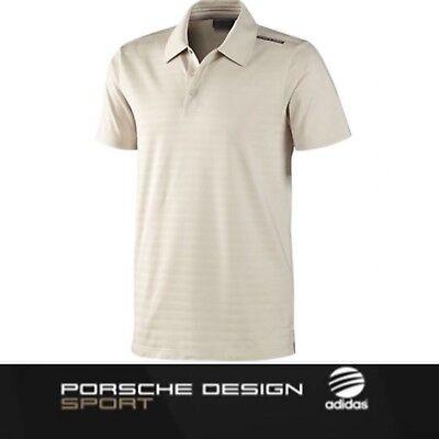 Porsche Design Sport by adidas P'5000 Relaxed Polo Shirt Titanium White BNWT