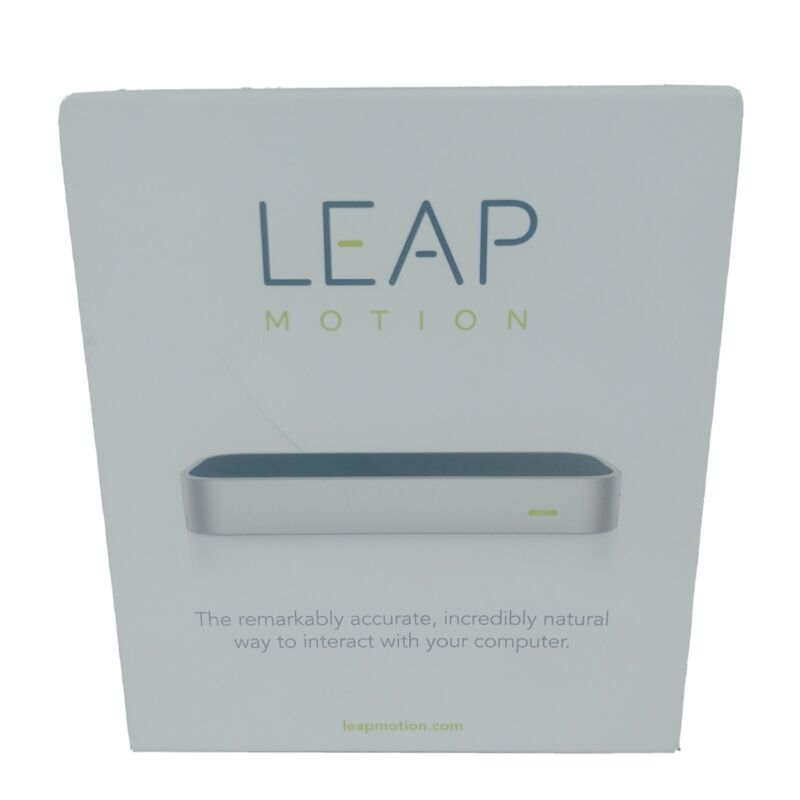 Leap Motion Controller Hand Tracking Silver LM-010 Used