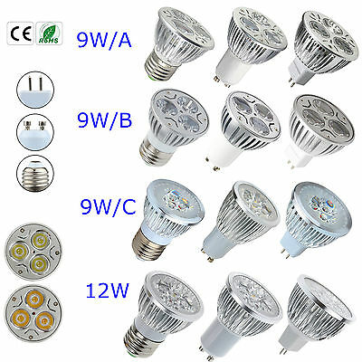 Epistar LED 9W 12W MR16 E27 GU10 ...
