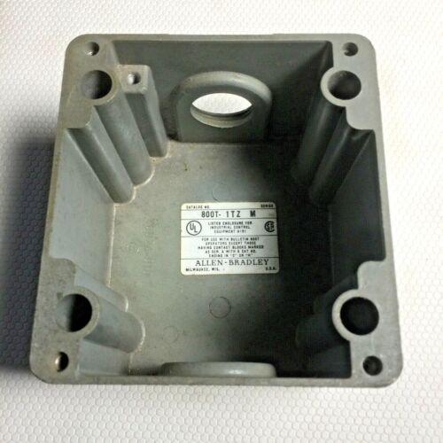Allen-bradley 800t-1tz  Die Cast Aluminum, Nema 4/13, Surface Mount 30mm 1 Hole