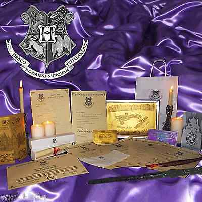 Harry Potter Hogwarts ULTIMATE MAGIC GIFT SET Perfect Christmas Xmas present! x