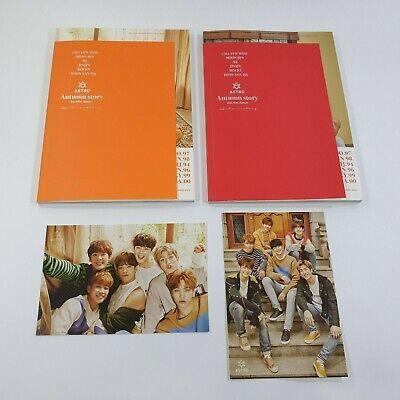 ASTRO 3rd Mini album Autumn Story Official CD Photobook [NO Photocard] K-POP A+B