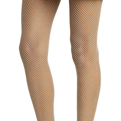 SPRING TIME  HOT TOPIC NUDE SMALL NET FISHNET TIGHTS FOR LINGERIE COSTUME NEW  (White Fishnet Tights)
