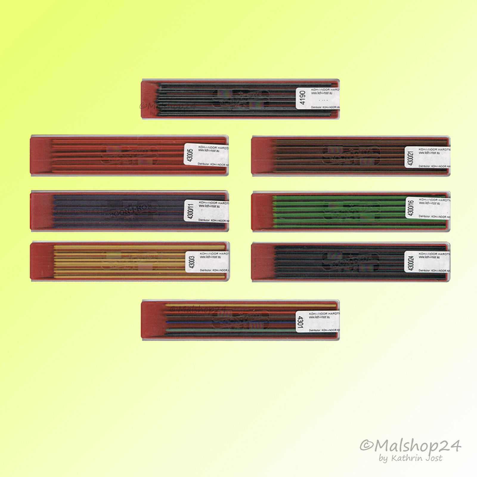 Fallminen 2 mm Bleistiftminen/bunte Minen Farbminen für Fallbleistift Bleistift