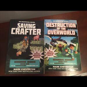 Minecraft books! Game knight999 series, very good idea cond