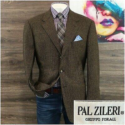 Pal Zileri Mens Blazer Sport Coat Zegna Wool Cashmere Sport Jacket Size 46R