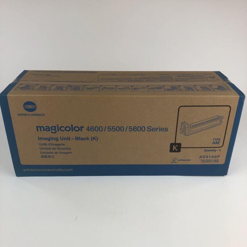 New Genuine Konica Minolta Black Imaging DRUM Unit 4600 4650 5500 5600 A03100F
