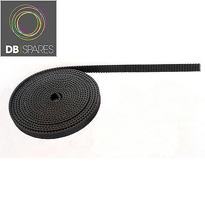 20 Metres Of 3d Printer Gt2 Timing Belt 6mm Width Reprap Rostock Mendel Prusa