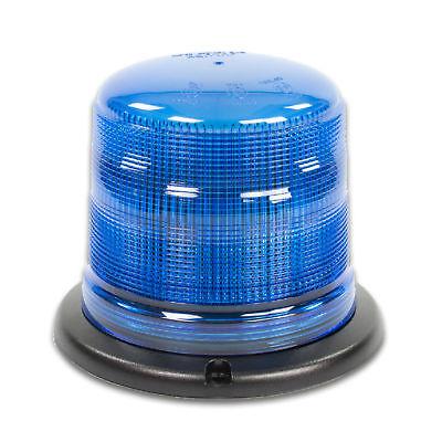 LED-MARTIN Rundumleuchte SESTO - 11 Blitzmuster - blau - 3-Punkt - 12V 24V. Prof