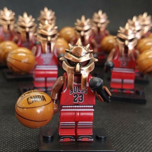 MF DOOM Michael Jordan MASK LEGO mini figure NY DOOM Metal Face