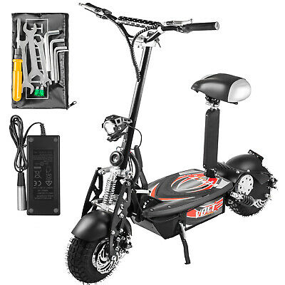 Folding Electric Scooter with Large Wheels, Powerful 48v 100