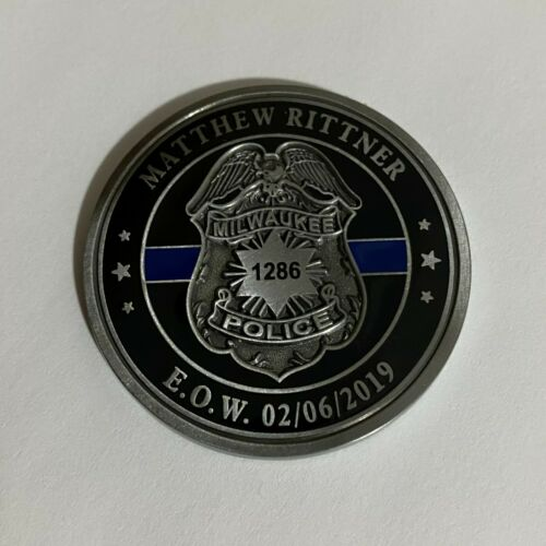 Milwaukee, Wisconsin Police challenge coin