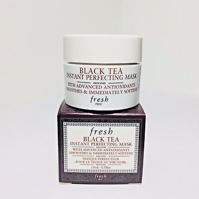 Fresh Black Tea Instant Perfecting Face Mask 0.5 oz/15ml NEW in Box Travel Size