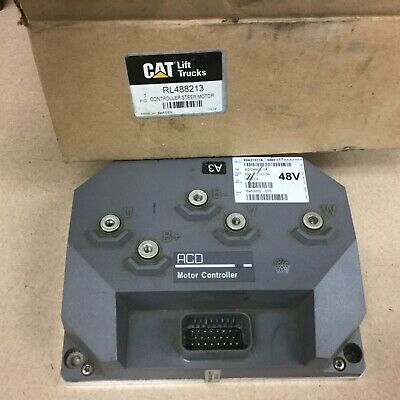 Cat Caterpillar Rl488213 48v Motor Controller For Nr4000 Fork Lift Reach Truck
