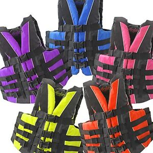 HARDCORE-Neoprene-Polyester-Life-Jacket-Vest-PFD-Type-III-Fully-Enclosed