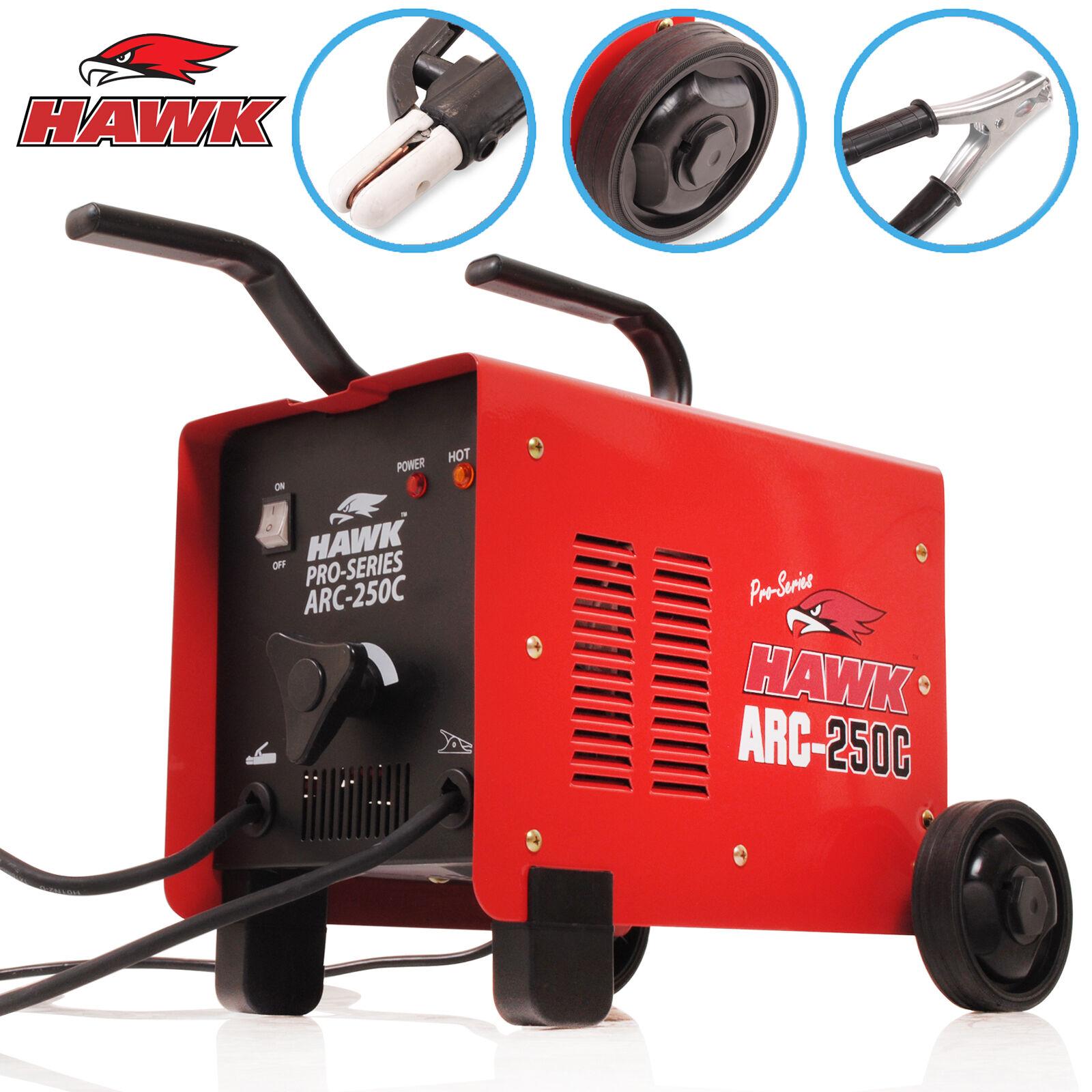 Hawk Tools 250 Amp Arc Mma Stick 230v Portable Weld
