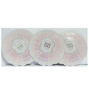 Etude House Precious Mineral BB Cream cotton fit Natural beige W13 Samples 3pcs