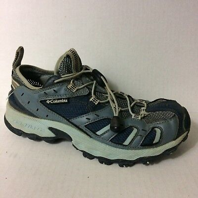 Outpost Hybrid - Columbia Womens 6.5 M Shoe Outpost Hybrid Trail Hiking Walk Bungee Sneaker Blue
