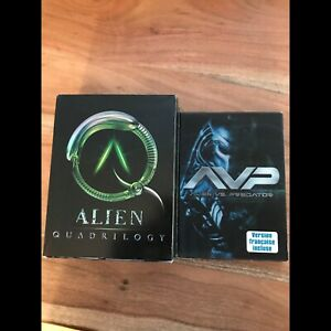 Alien Trilogy and AVP movies DVD
