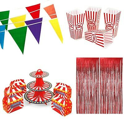Circus Party Favors (Carnival Circus Theme Birthday Party Decorations Favors Gifts Treat Boxes)