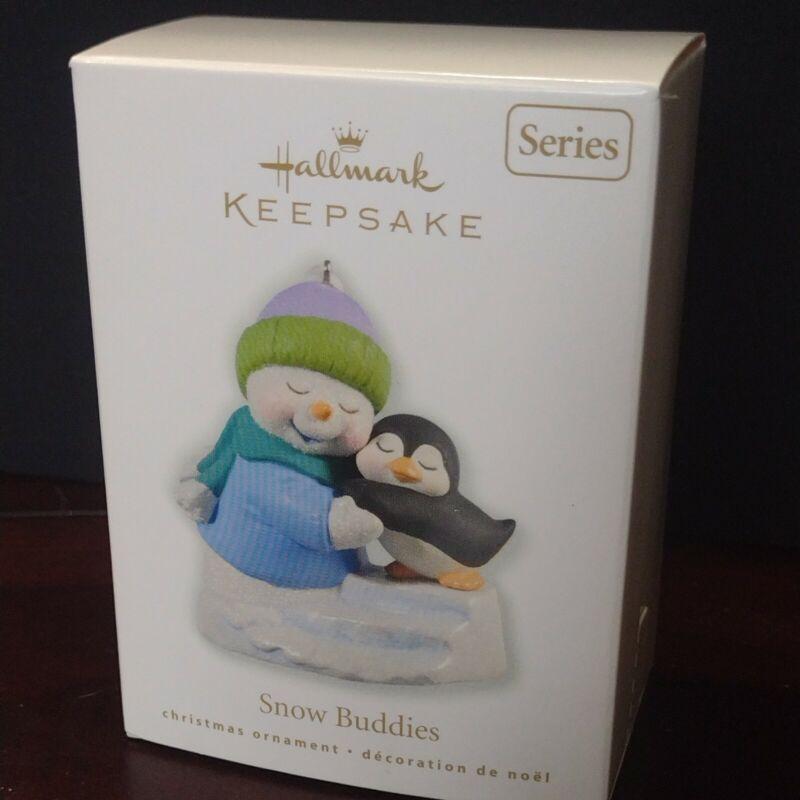 Hallmark Keepsake Snow Buddies 13th in Series Ornament 2010 Snowman & Penguin