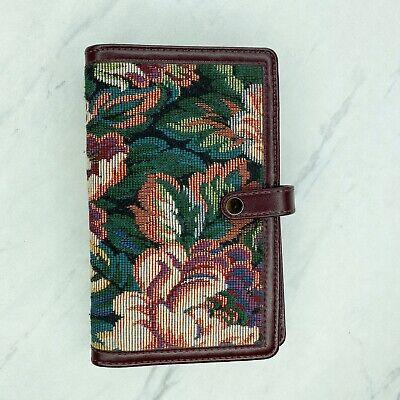 Vintage Day Runner Tapestry Pocket Planner Notebook 1994 90s