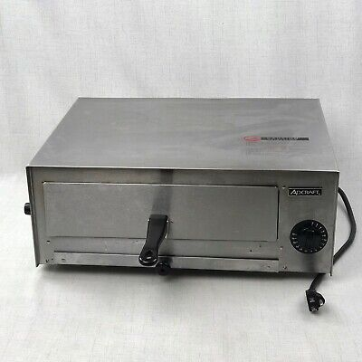 Adcraft Ck-2 Countertop Pizzasnack Electric Oven - Stainless Steel