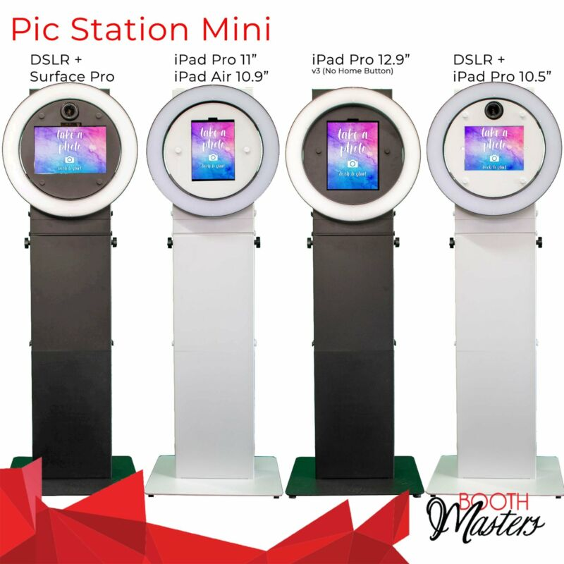 Portable Photo Booth: Pic Station Mini