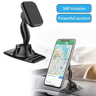 360° Strong Magnetic Car Cell Phone Mount Holder Stand For