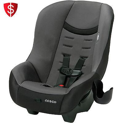 Grey Cosco Scenera Toddler Convertible Car Seat Kid Baby Safe Trip Travel