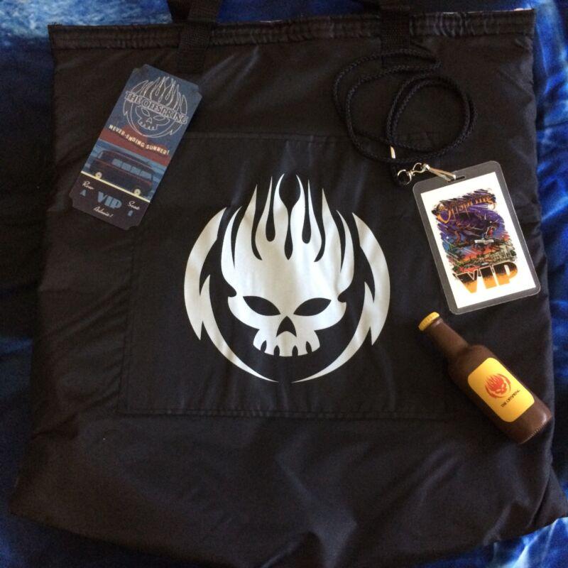 The Offspring 2018 VIP Tour Commemorative Ticket Pass Laminate Cooler Bag