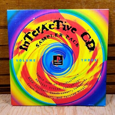 Interactive CD Sampler Pack Volume-3 Sony Playstation 1 PS1