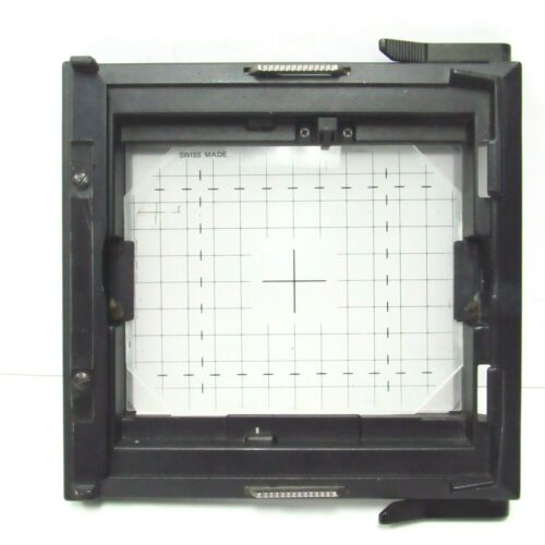 Sinar 4x5 Grid Ground Glass & Rear Frame Mount Camera Back 461.56.300 Swiss Made