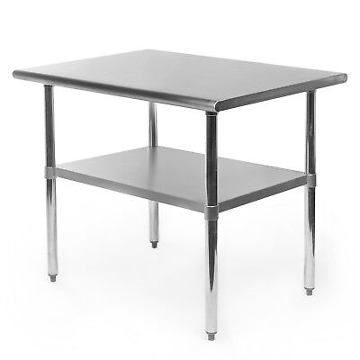 Commercial Stainless Steel Kitchen Food Prep Work Table - 24 X 36
