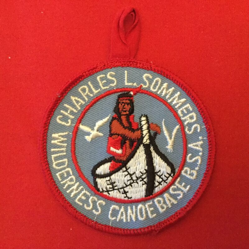 Boy Scout Charles L. Sommers Wilderness Canoe Base Pocket Patch
